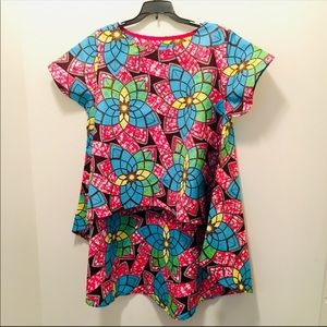 Tops - Ankara High/Low Top